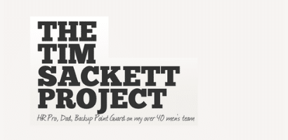 The Tim Sackett Project JobAdX