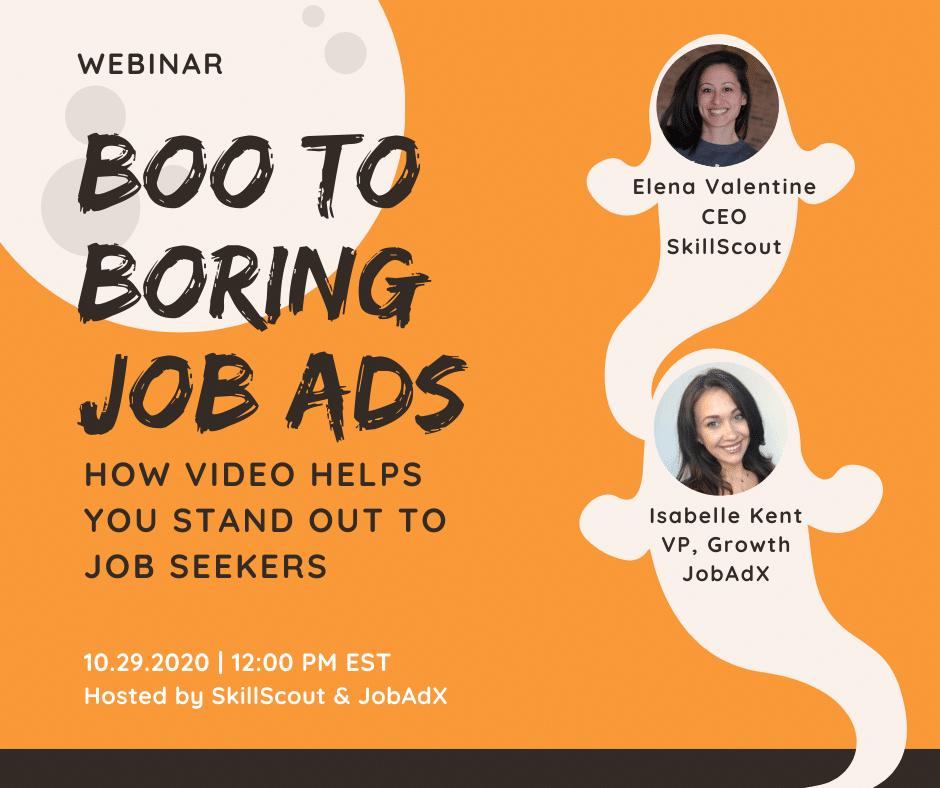 Boo to boring job ads
