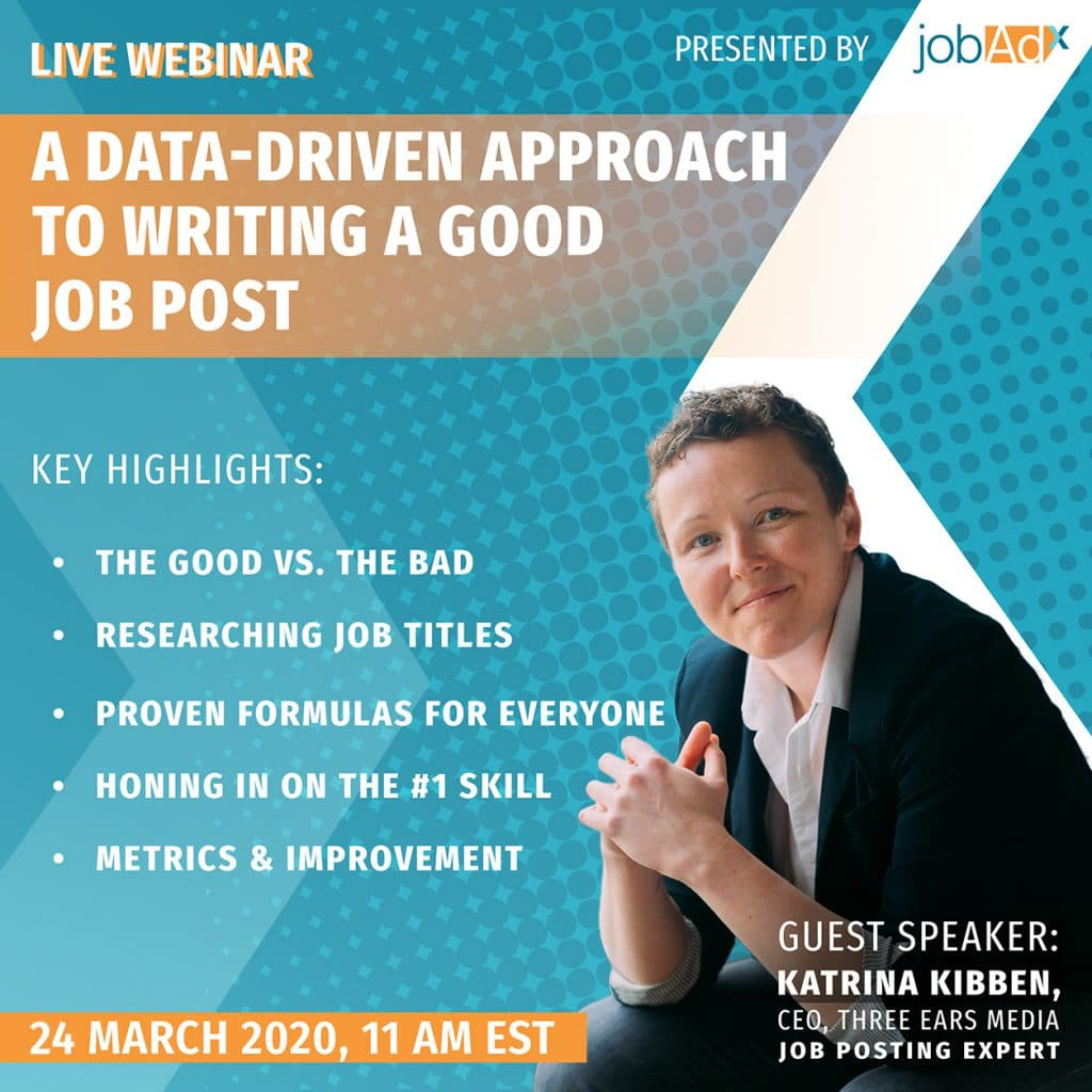 a data-driven approach to writing a good job post